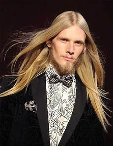 lange haare männer frisuren m 228 nner langes gesicht blond haare gerade