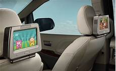 toyota highlander rear entertainment system toyota accessories best family cars honda