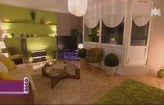 Deco Salon Vert Anis Et Gris