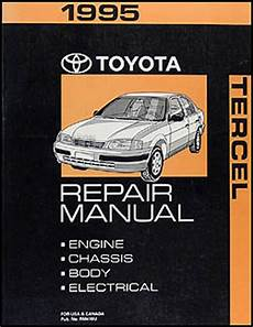 what is the best auto repair manual 1995 eagle talon parking system 1995 toyota tercel repair shop manual original