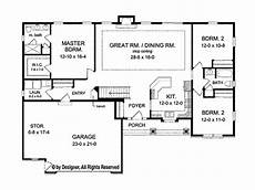 ranch style house plans australia ranch style house plan 3 beds 2 baths 1746 sq ft plan