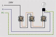 wechselschaltung 3 schalter schaltplan wiring diagram