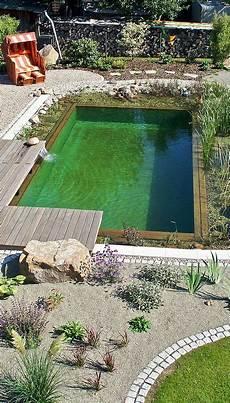 Schwimmteich Selber Anlegen - naturpool wohlf 252 hloase mit farbakzenten naturpool
