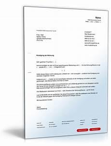 kündigung mietvertrag vermieter k 252 ndigung mietvertrag fristgem 228 223 vermieter