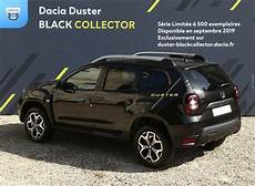 configuration dacia duster only dacia duster black collector edition limited