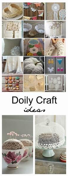 diy doily craft ideas the idea room