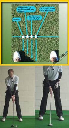 correct golf swing driver vs iron swing the correct start position and swing