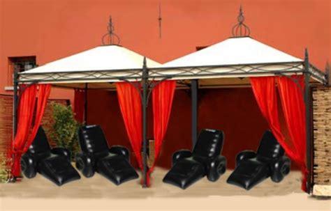 Noleggio Zone Relax Con Poltrone Massaggianti Gonfiabili
