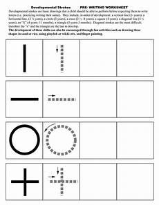 pre writing strokes worksheets pre writing prewriting skills preschool writing