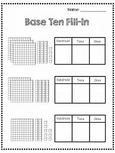 2nd grade math worksheet base ten place value worksheets 2nd grade ones tens hundreds by