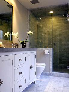 transitional bathrooms pictures ideas tips from hgtv neutral transitional bathroom with gray tile walk in