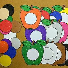 lesson for high school 18688 apple color match for preschool and kindergarten colors kindergarten apples and
