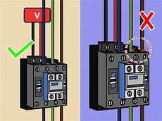 How To Wire A Contactor 13 Steps With Pictures Wikihow