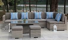 Gartenmöbel Polyrattan Lounge - gartenm 246 bel rattan polyrattan garten lounge sitzgruppe