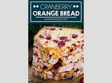 cranberry orange bread with orange butter image