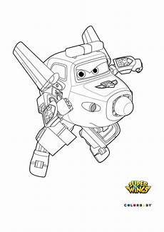 dibujos colorear wings paul coloring pages