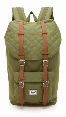 lyst herschel supply co america quilted backpack