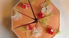 Originelle Geschenkverpackung Basteln - grundanleitung torte als geschenkverpackung basteln