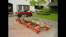 mobile selber bauen blockbands 228 ge eigenbau bandsaw mill