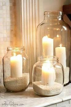 candele arredamento idee fai da te per decorare con le candele nel 2019