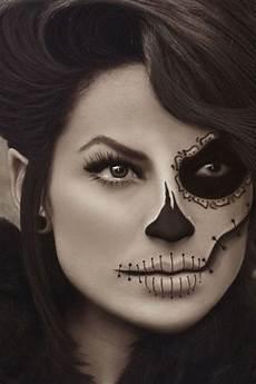 Make Up Halbes Gesicht - noch mehr coole kost 252 m und schmink ideen f 252 r