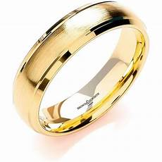 18ct gold wedding rings brown and newirth mens 18ct yellow gold wedding ring anp1046 6 18y market cross jewellers