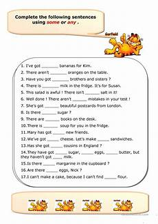 worksheets using some and any some any worksheet free esl printable worksheets made