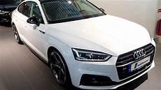 2019 audi s5 sportback white 2019 audi a5 sportback glacier white with black optic and