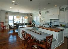 An Quot L Quot Shaped Kitchen Island Kitchen Beautiful Kitchen Islands With Bench Seating Kitchen