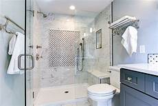 bathroom design tricks for a cleaner looking bathroom