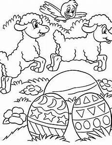 Malvorlagen Ost Kostenlose Ausmalbilder Ostern Verspielte Osterlaemmer