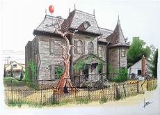 pennywise house plans house of pennywise by leondiaz on deviantart