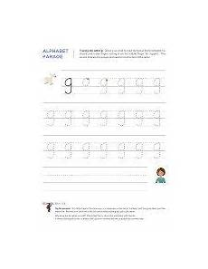 small letter g worksheets 24640 lowercase g letter tracing worksheet with easy to follow arrows showing th letter tracing