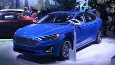 2019 ford fusion hybrid sport release date price