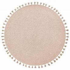 nattiot geflochtener teppich heloise puderrosa gold