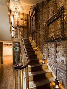 Shabby Chic Style Staircase Design Ideas Remodels Photos