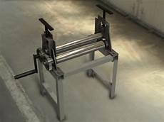 homemade sheet metal roller