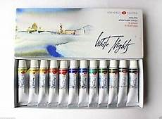 watercolor paint white nights nevskaya palitra russian 12 in 10ml 4607010582159 ebay