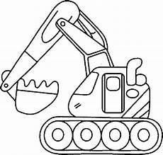 Malvorlagen Bagger Bild Malvorlage Bagger 6 Gif 627 215 600 Truck Coloring