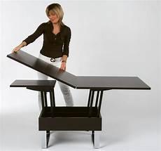 table basse transformable table basse transformable et relevable supra teinte de