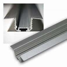 1m aluminium t eckprofil f 252 r led stripes eloxiert
