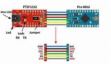 b4r tutorial how to connect an arduino pro mini to a pc