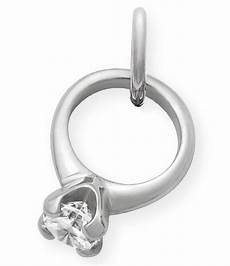 engagement rings avery avery engagement ring charm with cubic zirconia