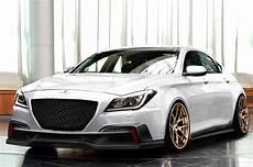 supercharged 2015 hyundai genesis sedan head to sema motor trend wot
