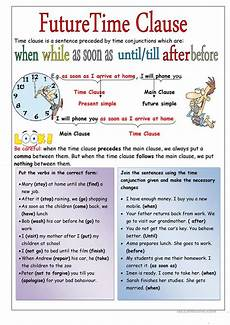 time clauses worksheets 2951 time clause worksheet free esl printable worksheets made by teachers