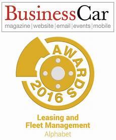 Alphabet Awarded Prestigious Leasing And Fleet Management