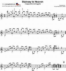 stairway to heaven fingerstyle guitar sheet music