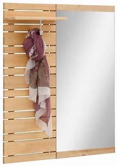 garderobenpaneel mit spiegel home affaire garderobenpaneel 187 jossy 171 mit spiegel breite