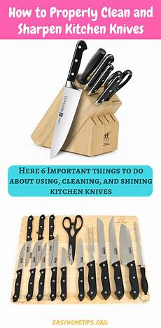 Where Can I Get My Kitchen Knives Sharpened How To Properly Clean And Sharpen Kitchen Knives