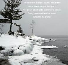 carol chapman inspirational quote on winter